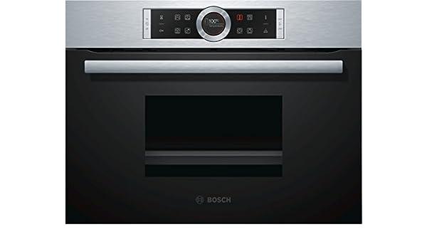 Bosch CMG636BS2 Integrado 45L 1000W Negro, Acero inoxidable ...