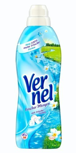 Vernel Concentrated Fabric Softener Fresh Morning(formally BlueSky) - 1L (appr 28 Loads)