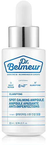 [THEFACESHOP] Dr. Belmeur CLARIFYING SPOT CALMING AMPOULE for Any Kind of Skin (22 ML / 0.74 FL OZ)