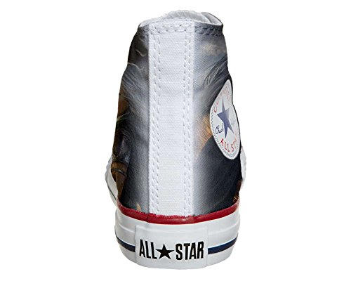 Converse PERSONALIZZATE All Star Hi Canvas, Sneaker Uomo/Donna (Prodotto Artigianale) Future Girl C