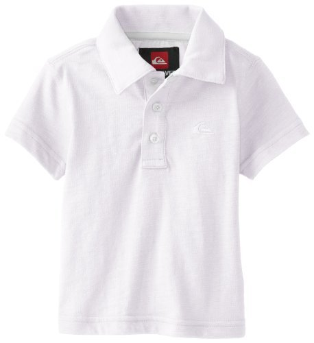 Quiksilver Baby-Boys recién nacidos Get It Polo, blanco, 12 - 18 ...