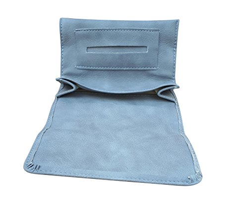 Rolling Tobacco Pouch/Case For Rolling Cigarette (Gray)