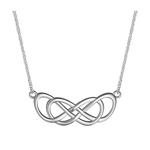 large-curved-double-infinity-symbol-charm-and-chain-lovers-charm-18-inches-in-sterling-silver