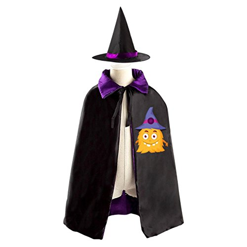 Chipotle Scarecrow Classic Halloween Costume Cloak with Hat for Boys and (Style Chipotle)