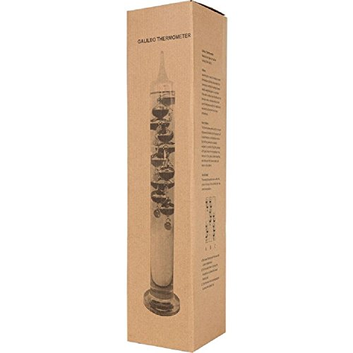 Lily's Home 21 Inch Liquid Galileo Thermometer with Ten ...