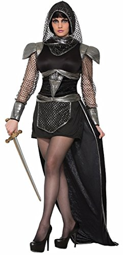 [Forum Women's Knight of Glamour Costume, Multi/Color, Medium/Large] (Lady Knight Costume)