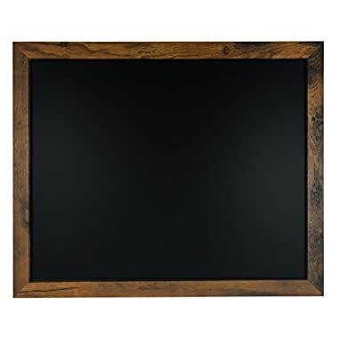 Rustic Wood Premium Surface Magnetic Chalk Board- 18 x22  by Loddie Doddie. Perfect Board for use with Chalk Markers and Home Decor