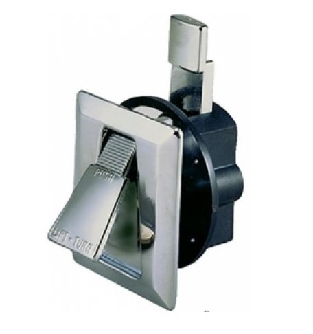 Perko 0922DP0CHR Cabinet Flush Latch