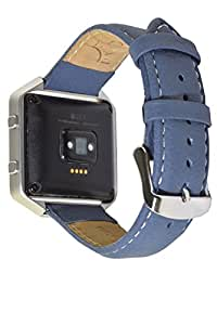 Deepra Blue band - Compatible with Fitbit Blaze and other 22 mm watches