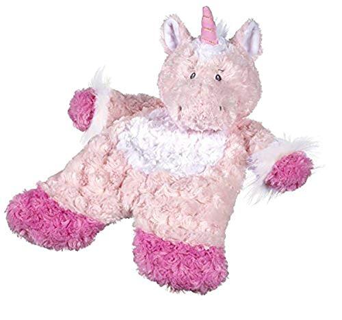 "Baby Ganz Sweet Iris Unicorn Flat-A-Pat Baby Blanket - 18"",pink"