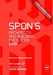 Spon's Architects' and Builders' Price Book 2010 (Spon's Price Books)