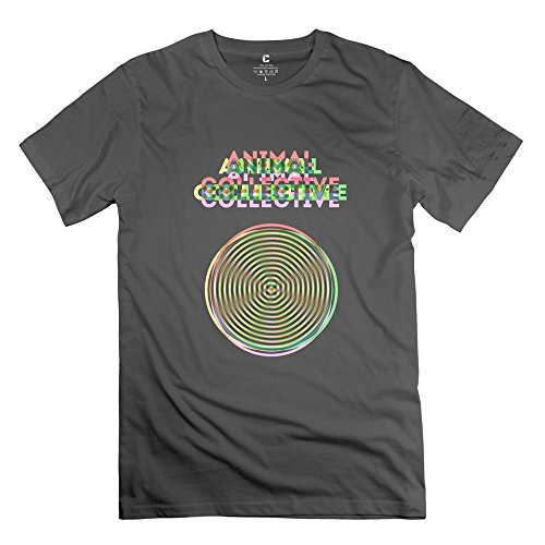 Crystal Men's Animal Collective Casual Design T-Shirt