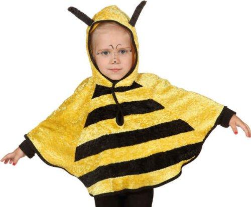 Orlob Biene Kinder Kostum Cape Mit Kapuze Zu Karneval Fasching In Gr