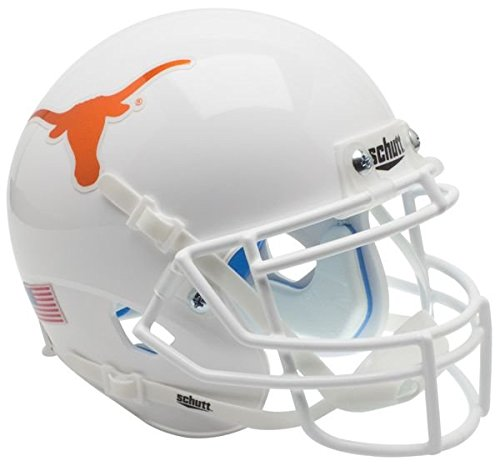 (Schutt Texas Longhorns Authentic College XP Football Helmet - NCAA Licensed - Texas Longhorns Collectibles)