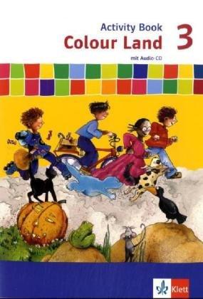 Colour Land ab Klasse 3 - Neubearbeitung / Activity Book mit Audio-CD 3