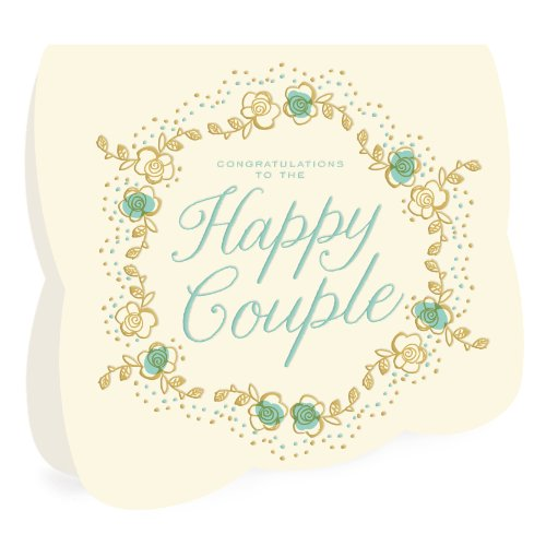 Fairy Tale Letterpress Congratulations Card by Night Owl Paper Goods (Fairy Tale Couples)