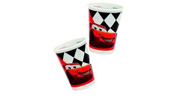 Disney / Cars Pixar Vasos De Fiesta (pack 10 Unidades): Amazon.es ...