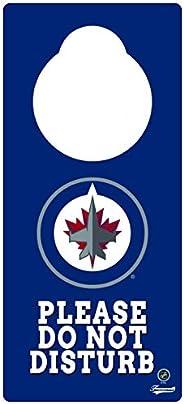Frameworth Winnipeg Jets Door Knob Hanger, One Size, Blue