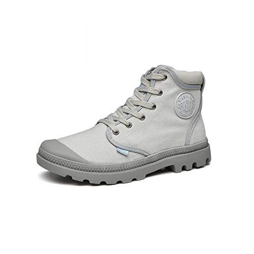 Grigio Boots da Taglia 5 Martin Top UK6 uomo Outdoor Canvas Colore Ff Eu39 CN40 6n8Fx