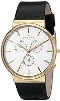 Skagen Men's SKW6143 Ancher Analog Display Analog Quartz Black Watch by Skagen Watches