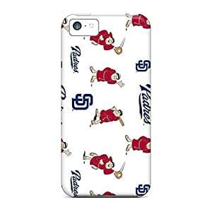 Great Hard Phone Covers For Iphone 5c (qVB15965KdwH) Customized High-definition San Diego Padres Pattern