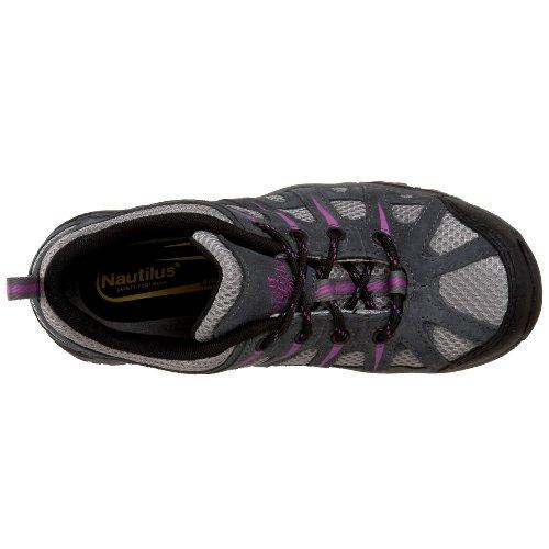 Metal 1754 diseño Deportivas para Zapatillas Nautilus Mujer Lavanda Gris de Peine wUnPHxX