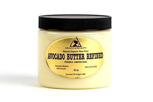 Avocado Butter Ultra Refined Organic Cold Pressed Natural Prime Fresh 100% Pure 48 oz, 3 LB