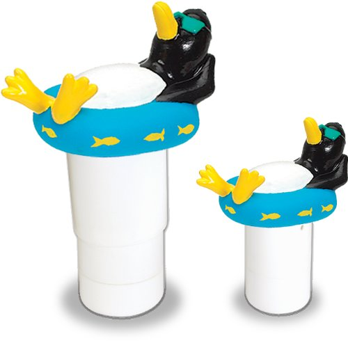 hydro-tools-87281-large-capacity-floating-penguin-pool-chemical-dispenser