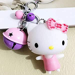 Amazon.com: YPT - Llavero con diseño de gato de Corea con ...