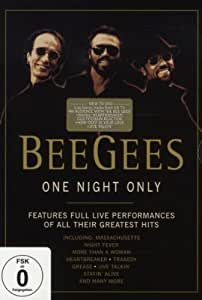 The Bee Gees - One Night Only: Anniversary Edition [Reino Unido] [DVD]