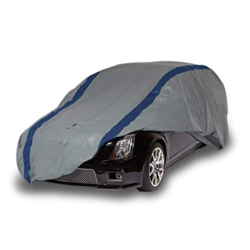 (Duck Covers Weather Defender Station Wagon Cover for Wagons up to 16')
