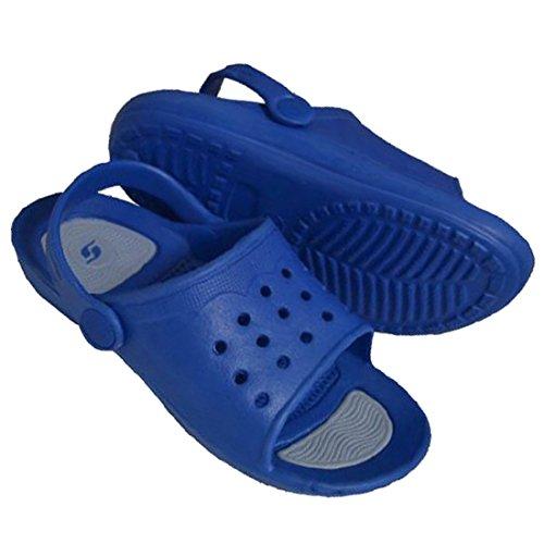 MuMa Sandalias de Vestir de PVC Para Niño Azul Turquesa