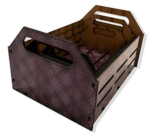 Kit Caixa Decorativa - Mandala Cinza