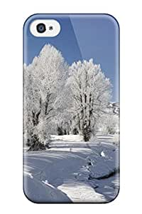 HJUQDTL243qorvh Tpu Case Skin Protector For Iphone 4/4s Beautiful Winter Landscape With Nice Appearance wangjiang maoyi by lolosakes