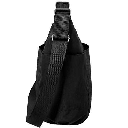 Baggallini Hobo Travel Tote, Black, One Size by Baggallini (Image #4)