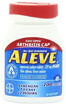 Aleve Tablets with Easy Open Arthritis Cap 200ct (Pack of 2) Personal Healthcare / Health Care by HealthCare