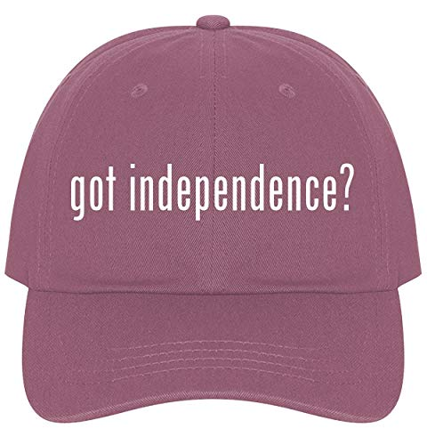 The Town Butler got Independence? - A Nice Comfortable Adjustable Dad Hat Cap, Pink