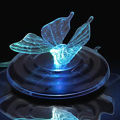MEIREN Color Changing Floating Solar Butterfly Light(Cis-57107) by MEIREN