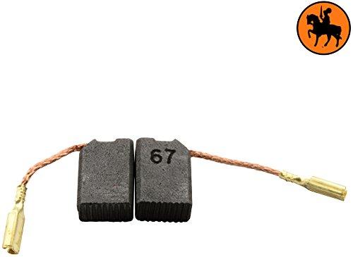 Avec Arr/êt automatique ressort 6,3x10x14mm Remplace les pi/èces dorigine 639800 /& 949647-02 cable et connecteur Balais de Charbon Buildalot Specialty ca-15-50147 pour ELU WS42EB