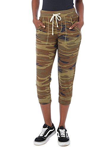 Jersey Cropped Pants - 4