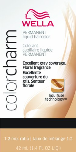 Wella Color Charm Liquid Permanent Hair Color - #311 - Dark Brown 42.6 ml (Pack of 6)
