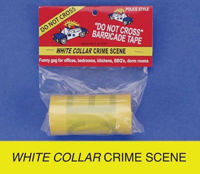 UPC 696735942717, Barricade Tape - White Collar Crime Scene