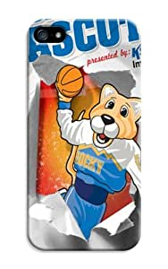 LarryToliver Customizable Baseball Z Mascots iphone 5/5s Case Cover for Guys New Design Phone Case