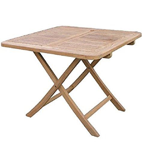 ジャービス商事 20713 折り畳みスクエアテーブル B 900×720×900mm B00U3V65LY