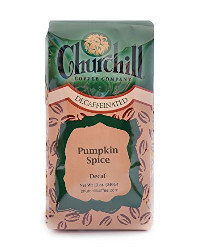 Churchill Coffee Pumpkin Spice 12 oz - Whole Bean (Decaf)