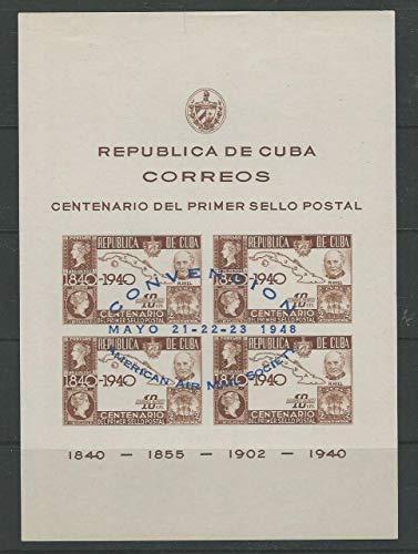 Caribbean Island, Postage Stamp, C39 Mint LH, 1948 Map, JFZ