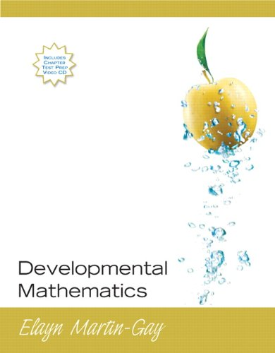 Developmental Mathematics (paperback edition)