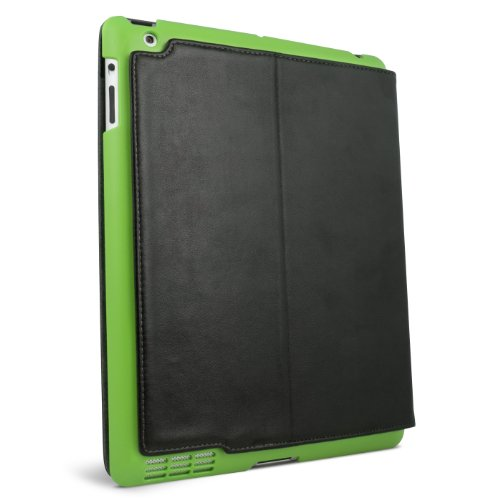 iFrogz Summit Case for iPad 2 - Black with Green Snap-On Shell (IPAD2-SUM-GRN)