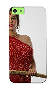 Hot A47ed774664 Case Cover Protector For Iphone 5c- Sunny Leone Adult Actress Women Females Models Brunees Sexy Babes Cleavage Face Eyes Pov/ Special Gift For Lovers