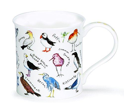 Dunoon Bute Birdlife Mug - Coastal